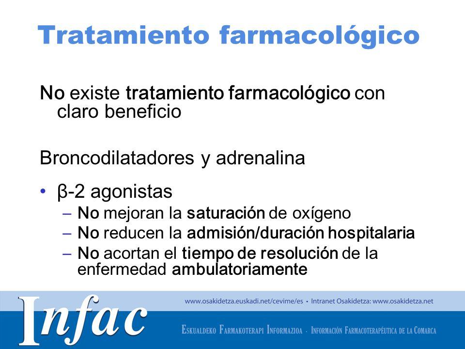 http://www.osakidetza.euskadi.net Ideas clave Base del tratamiento: corticoides Tratamiento de elección: dexametasona 0,15mg/Kg en dosis única En caso de LA moderada-grave puede utilizarse adrenalina nebulizada