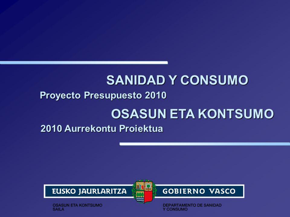 Sanidad y Consumo 12 n Promover el uso eficiente y seguro de los medicamentos: 1.