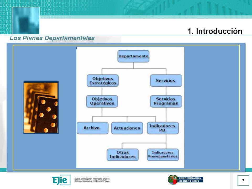 7 1. Introducción Los Planes Departamentales