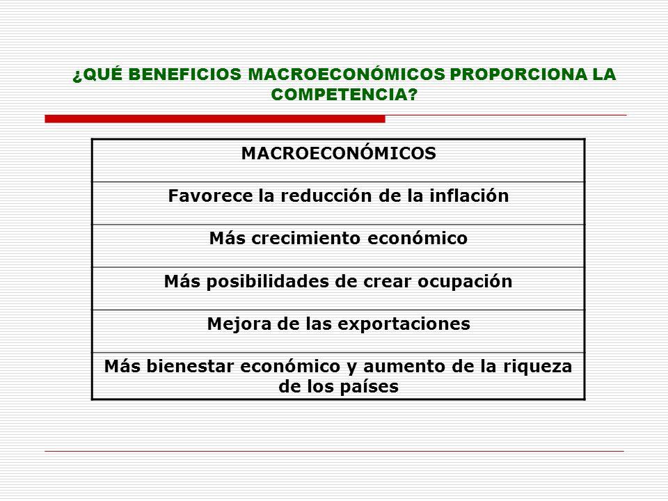 MODELO DE COMPETENCIA EN LA UNIÓN EUROPEA: COMPETENCIA EFECTIVA (WORKABLE COMPETITION) Favorecer la integración de los mercados nacionales Garantizar la protección de los consumidores Establecer un modelo de competencia efectiva