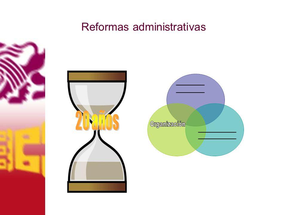 Reformas administrativas