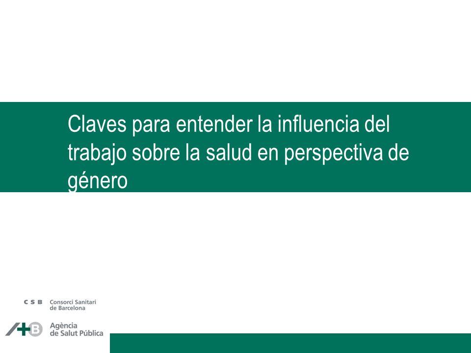 Distribución del cuidado de los hijos cuando los dos trabajan, Navarra Artazcoz L, Artieda L, Borrell, C, Cortès I, Benach J, García V.