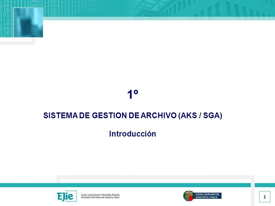 14 1.5.- VISUALIZACIÓN DE LOS DOCUMENTOS ELECTRONICOS Desde el registro del expediente se puede acceder al documento electrónico del mismo: Consulta del A.K.S.
