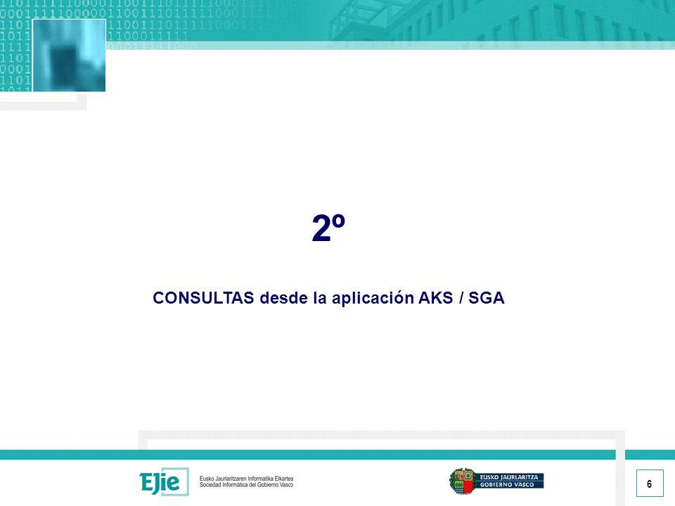 17 3º CONSULTAS desde la aplicación B29
