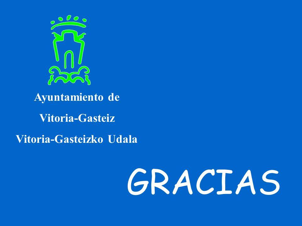 GRACIAS Ayuntamiento de Vitoria-Gasteiz Vitoria-Gasteizko Udala