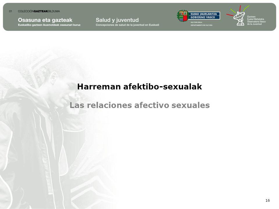 Harreman afektibo-sexualak Las relaciones afectivo sexuales 16