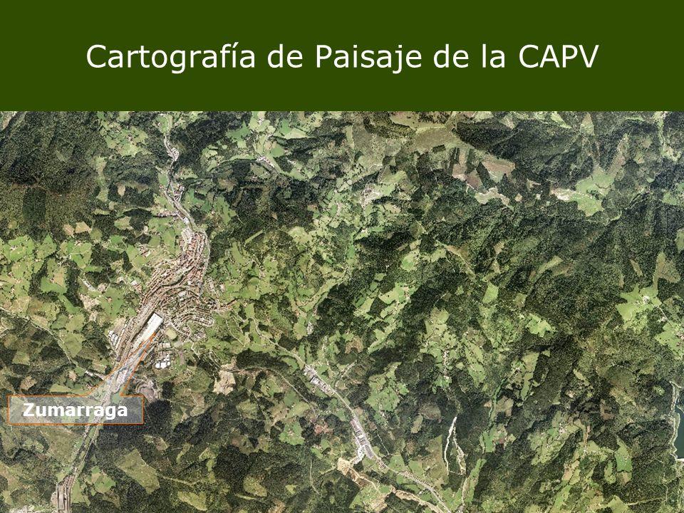 Cartografía de Paisaje de la CAPV Zumarraga