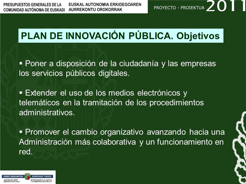 Poner a disposición de la ciudadanía y las empresas los servicios públicos digitales.