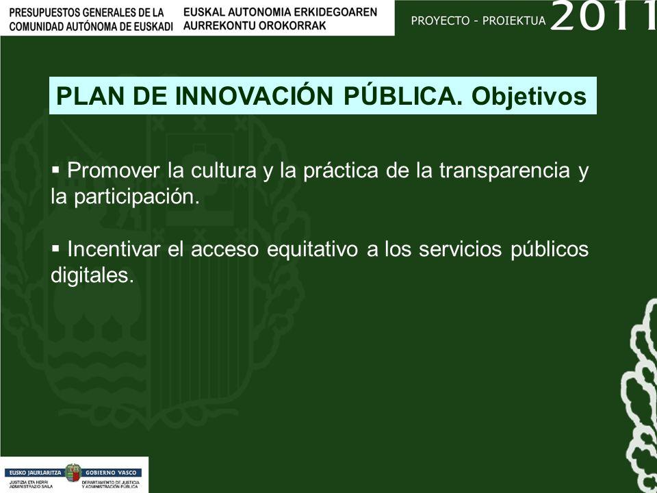 Promover la cultura y la práctica de la transparencia y la participación.