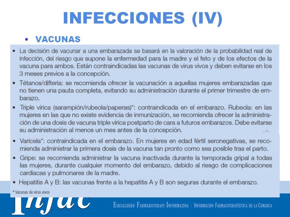 http://www.osakidetza.euskadi.net INFECCIONES (IV) VACUNAS