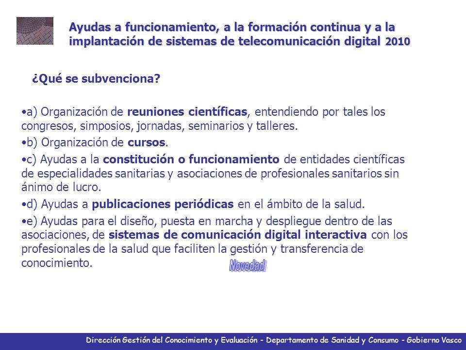 Dirección Gestión del Conocimiento y Evaluación - Departamento de Sanidad y Consumo - Gobierno Vasco Herramientas Listado de miembros profesionales y su interacción.