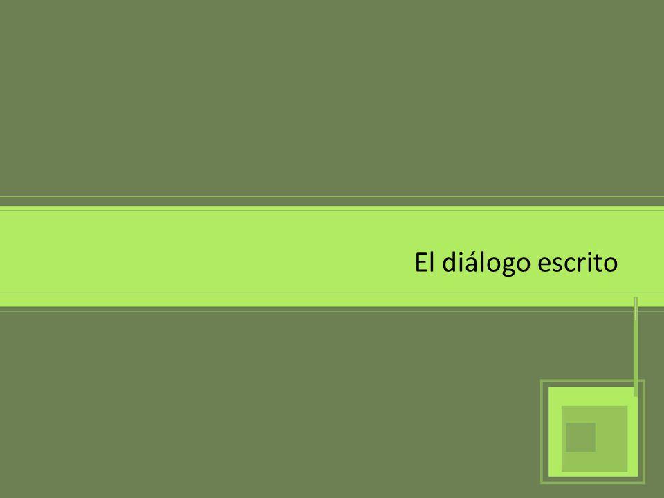 Concepto El diálogo es una conversación entre dos o más personas, que intercambian información, sentimientos o pensamientos.