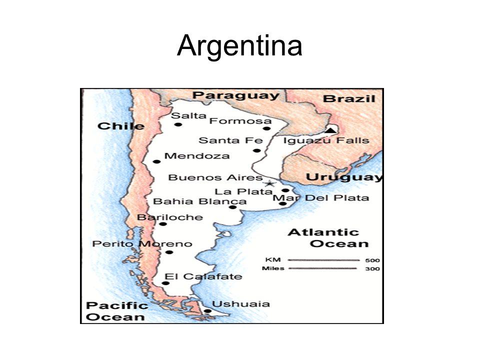 La República Argentina está representada por su gran héroe nacional La República Argentina está representada por su gran héroe nacional, General San Martín (15), vencedor en Chaca busco y Maipú, Libertador de Chile y Protector del Perú, cuya independencia proclamó.