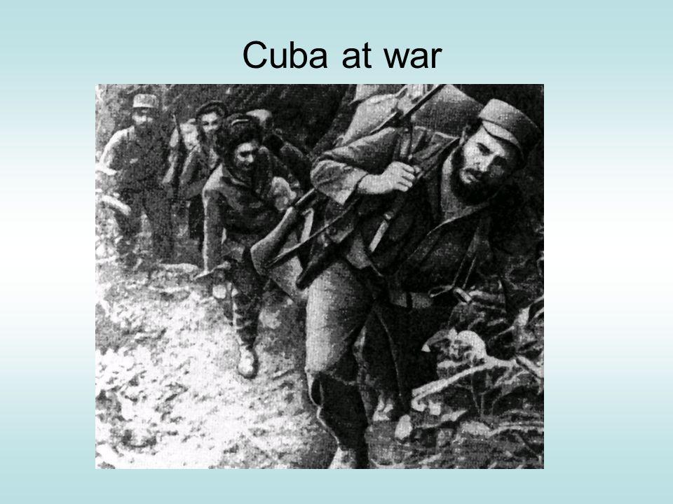 Cuba at war