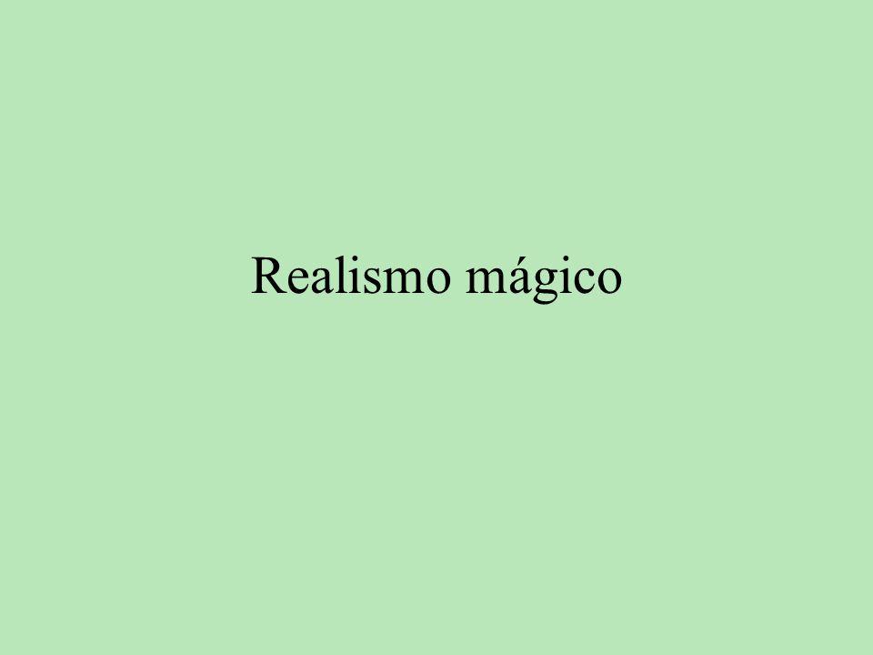 también debemos mencionar a Juan Rulfo con Pedro Páramo, donde se puede apreciar un incipiente realismo mágico.