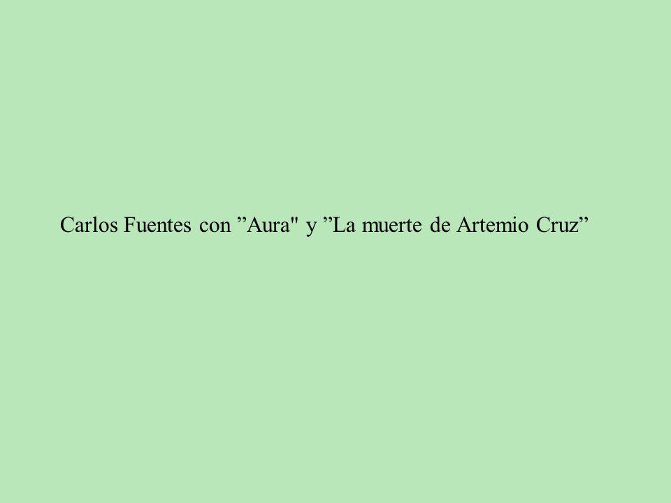 Carlos Fuentes con Aura