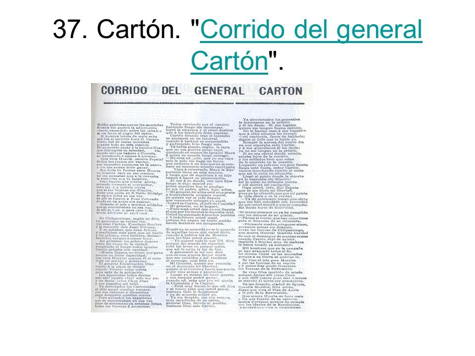37. Cartón.