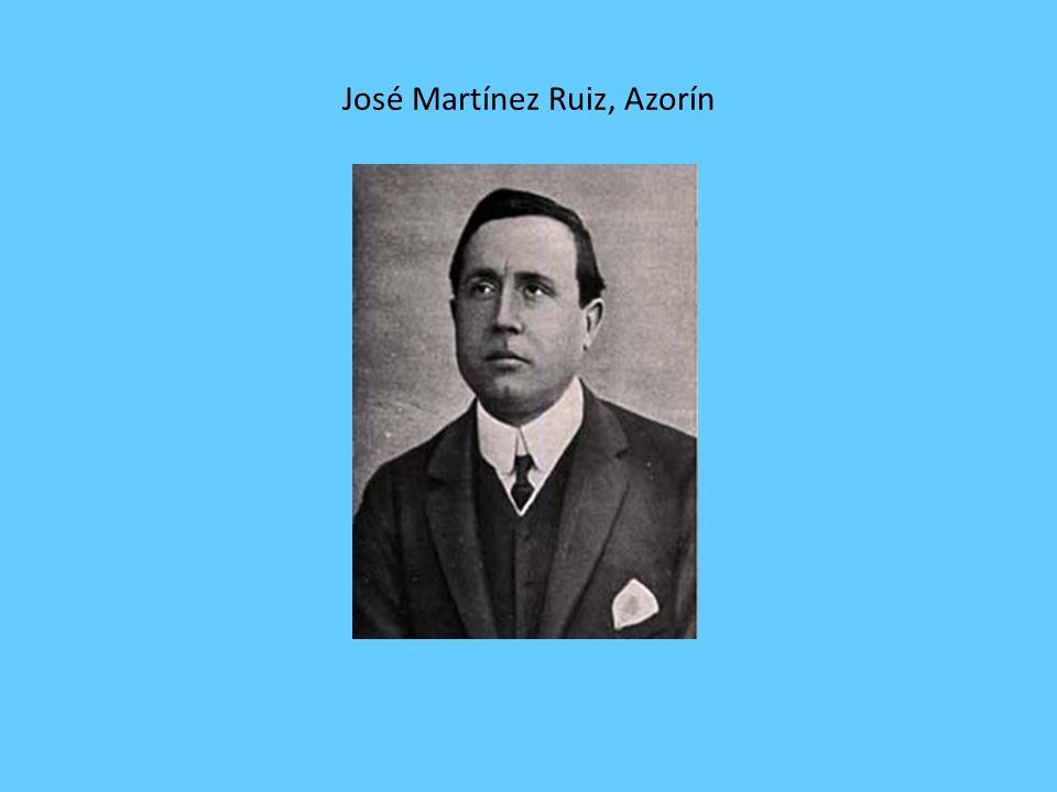 José Martínez Ruiz, Azorín