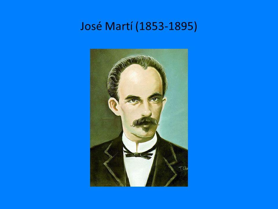 José Martí (1853-1895)