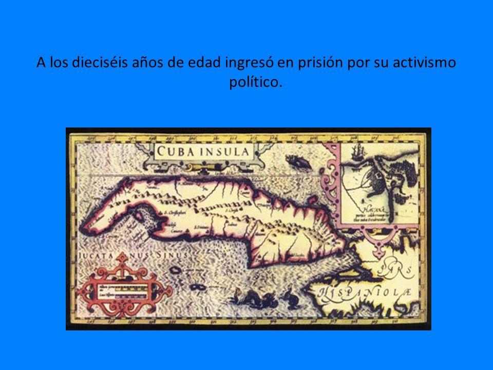 Fundó el Partido Revolucionario Cubano.