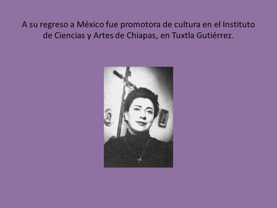 Trabajó en el Centro Coordinador del Instituto Indigenista de San Cristóbal las Casas, en Chiapas y en el Indigenista de México.