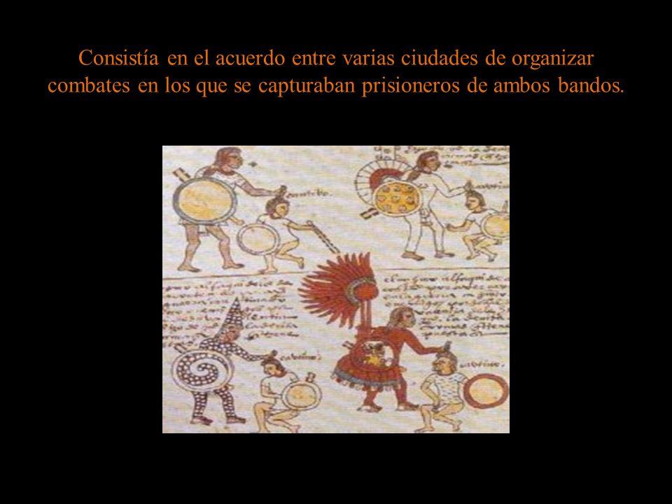 Consistía en el acuerdo entre varias ciudades de organizar combates en los que se capturaban prisioneros de ambos bandos.