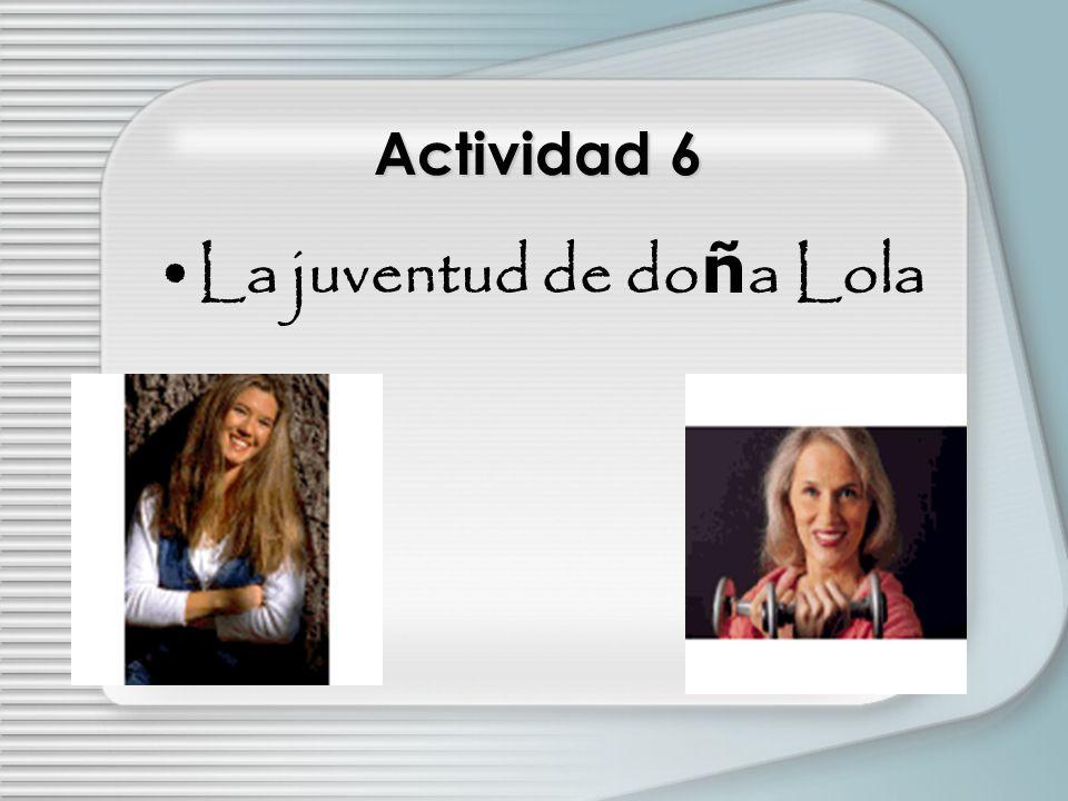 Actividad 5 Entrevista: La ni ñ ez