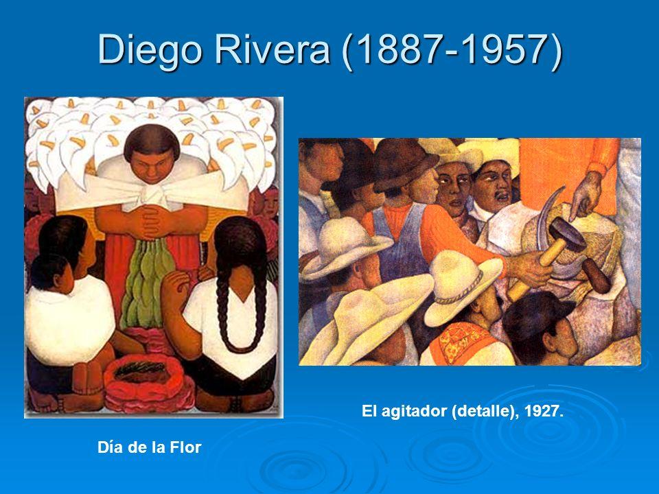 Diego Rivera (1887-1957) El agitador (detalle), 1927. Día de la Flor