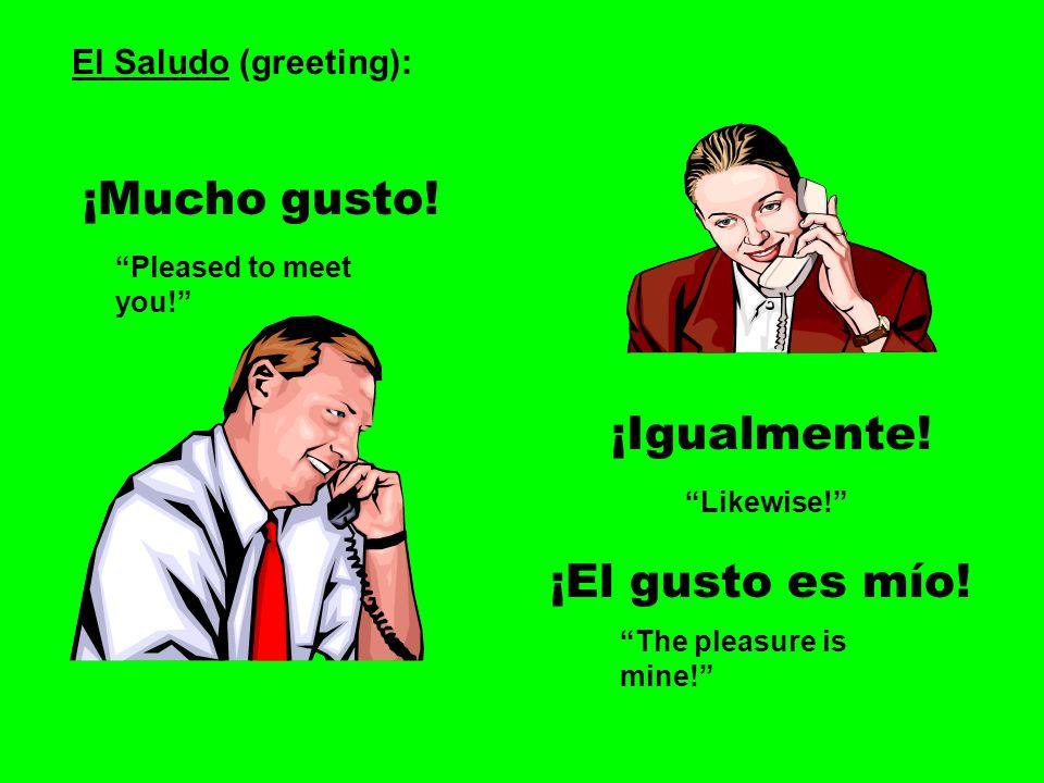 Spanish 1 Unit 1 Page 1