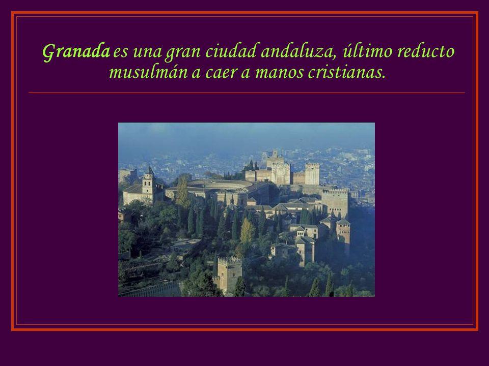 Alhama era una ciudad-fortaleza de los moros situada cerca de Granada.