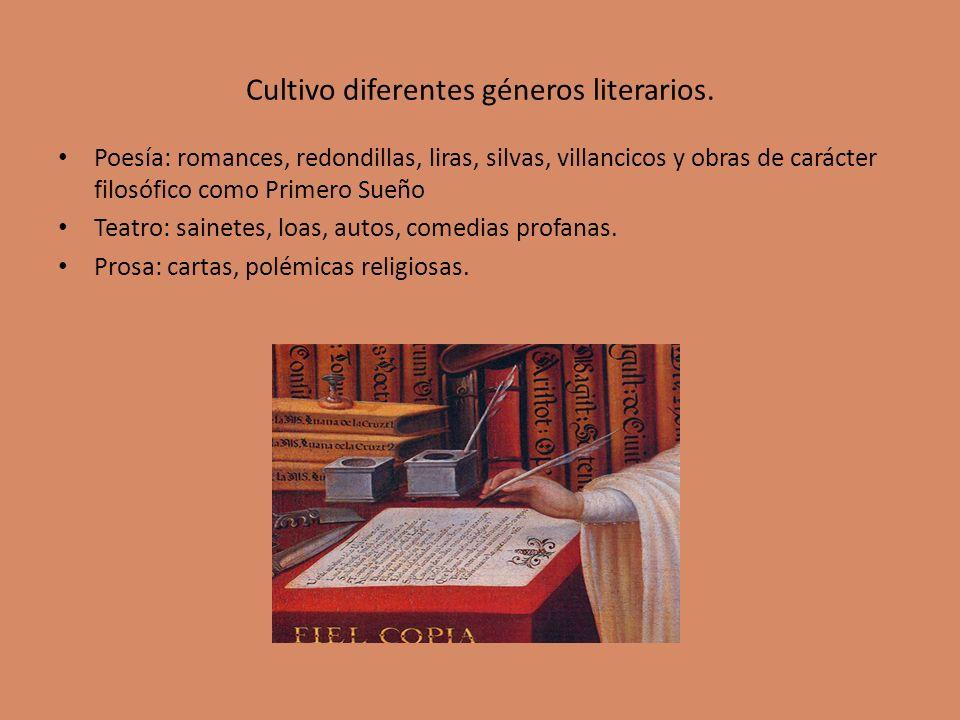 Cultivo diferentes géneros literarios.