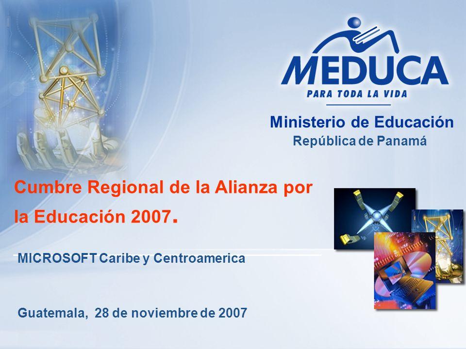 Cumbre Regional de la Alianza por la Educación 2007.