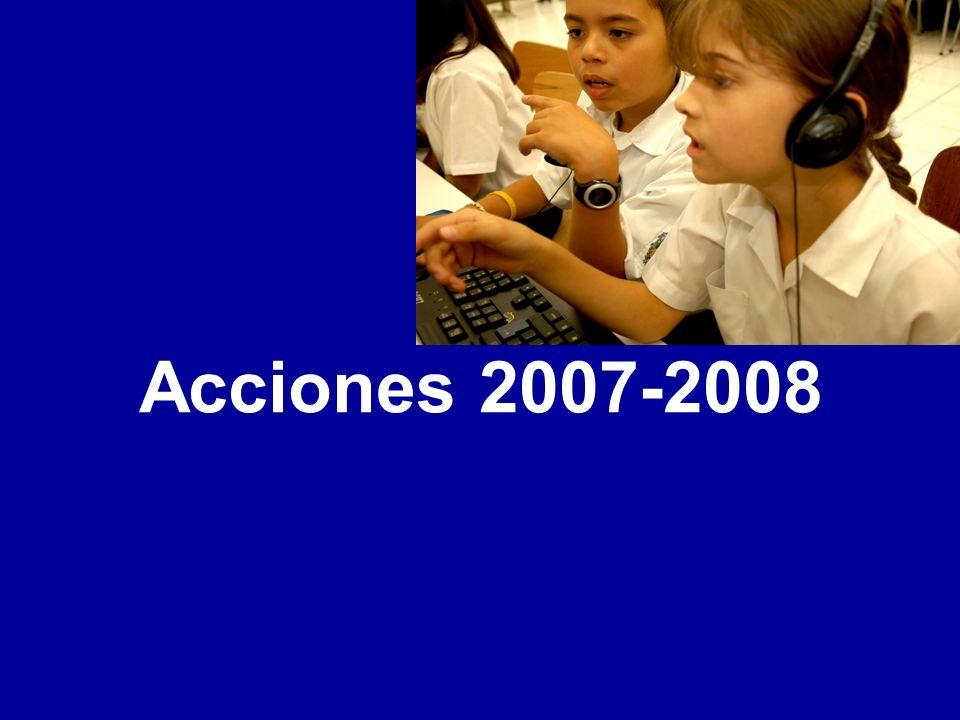 Acciones 2007-2008