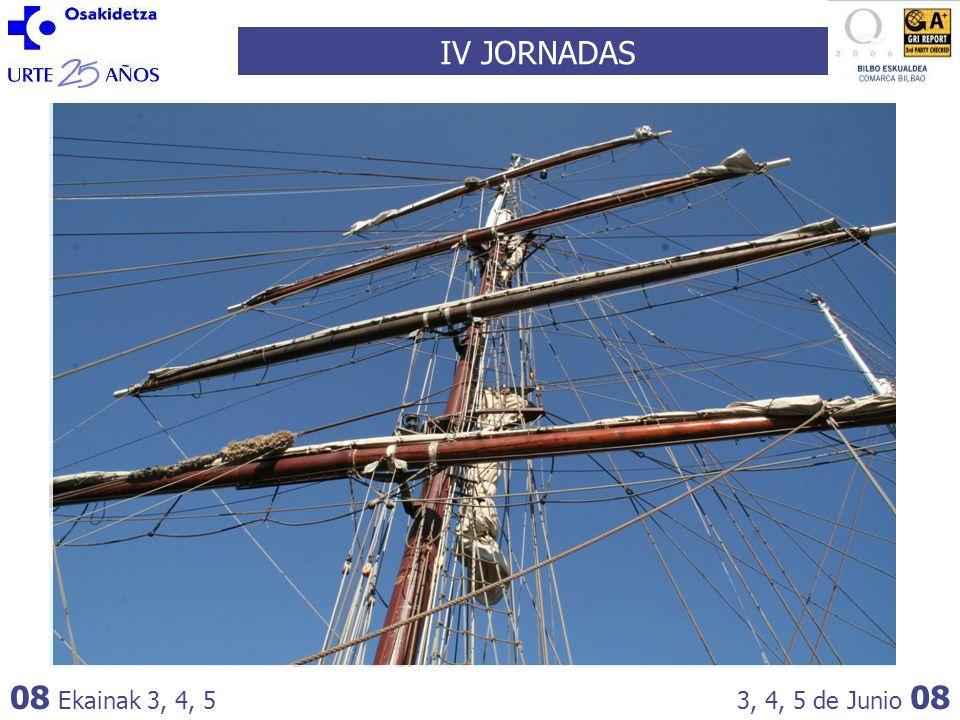 IV JORNADAS 08 Ekainak 3, 4, 53, 4, 5 de Junio 08