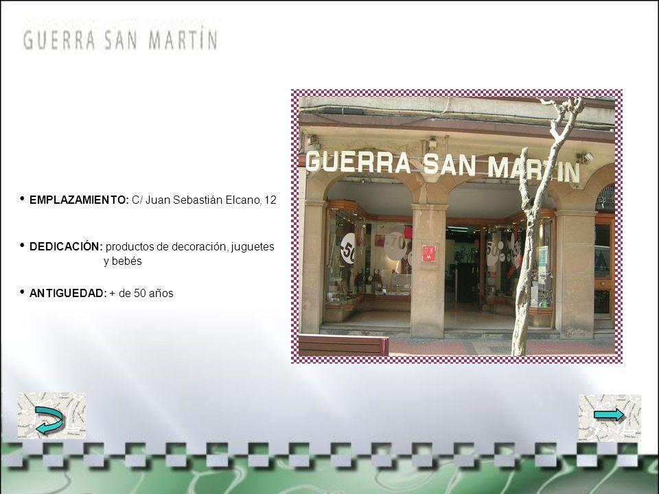 EMPLAZAMIENTO: C/ san Vicente, 11 DEDICACIÓN: Servicio técnico de antenas y Tv ANTIGUEDAD: + de 40 años