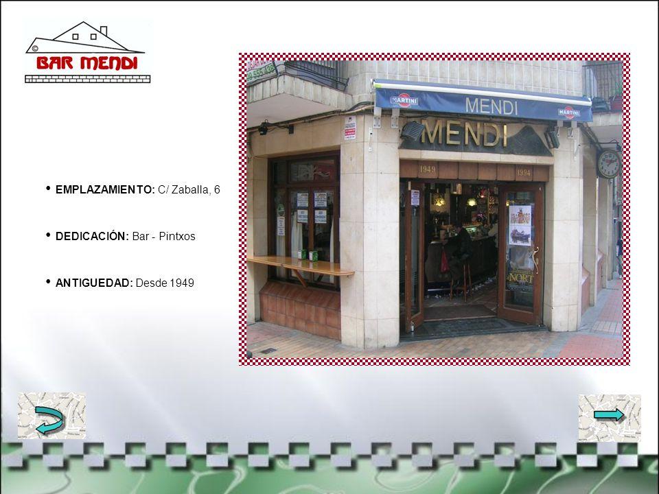EMPLAZAMIENTO: C/ San Antolín, 3 DEDICACIÓN: Paragüería y cuchillería ANTIGUEDAD: Desde 1969