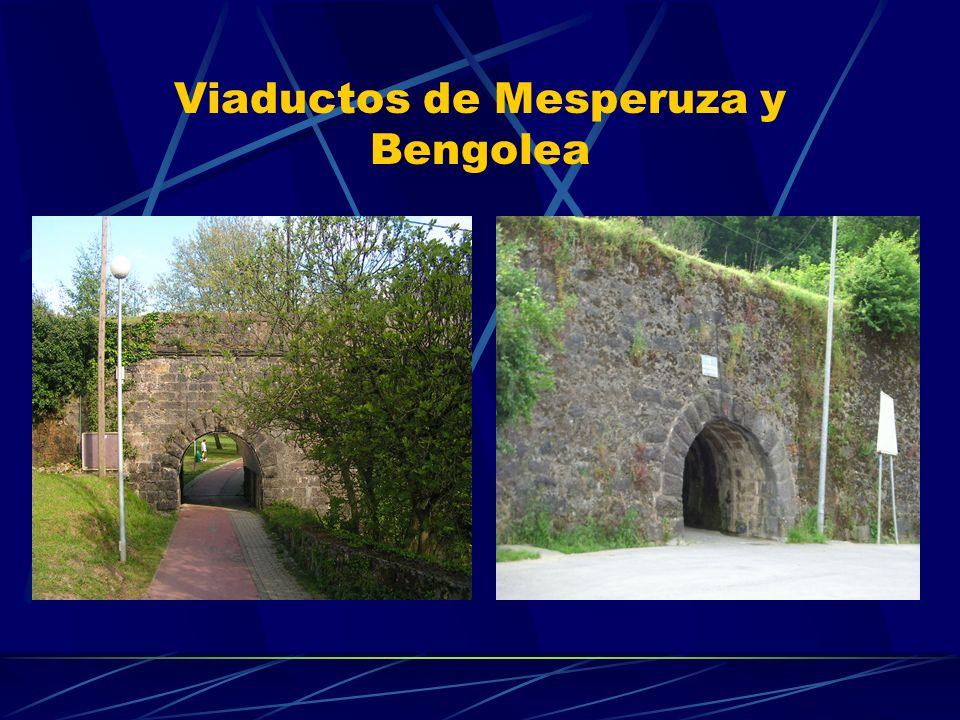 Viaductos de Mesperuza y Bengolea