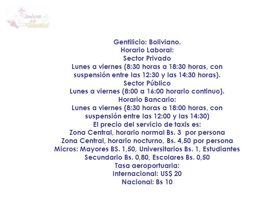 Códigos telefónicos internacionales: El código telefónico internacional para Bolivia es el 591.
