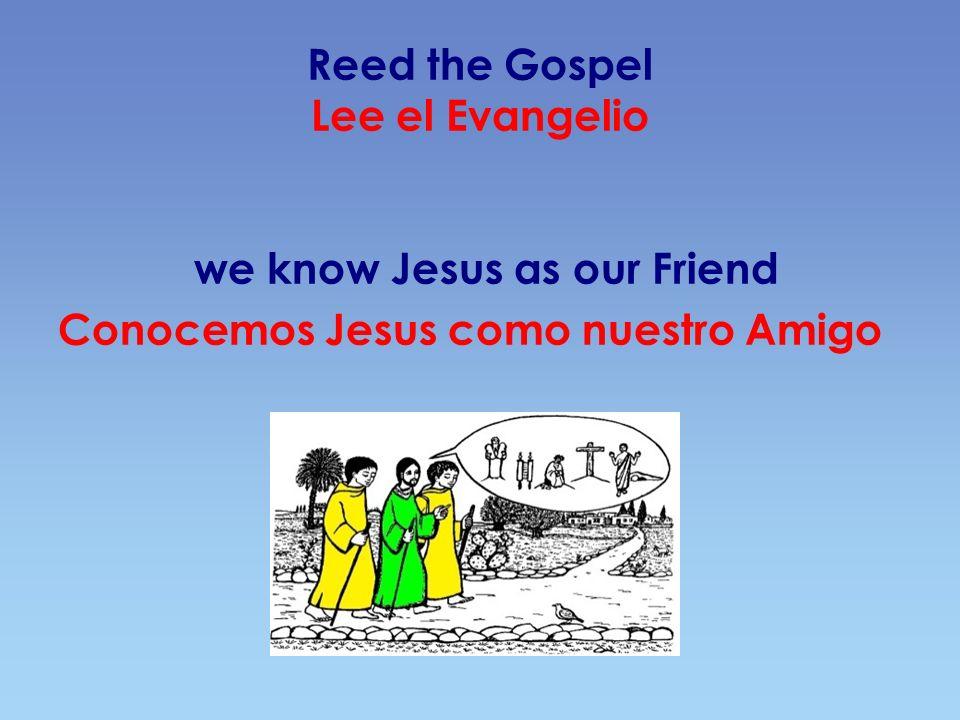 Live the Mass Vive la Misa Through His example, we are able to offer our own life Por medio de Su ejemplo, podemos ofrecer nuestra vida