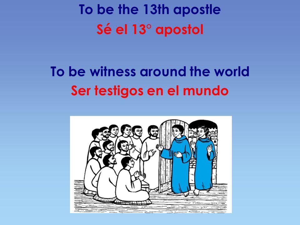 The goal of our way El destino de nuestro camino Become as the truthful Eucharistic Person: Jesus Christ.