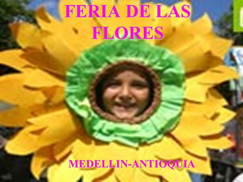 INTRODUCCION olorosas Medellín, conocida con el apelativo de la Ciudad de la eterna primavera , se engalana desde hace 46 años de naturaleza, para que sus habitantes puedan expresar con regocijo y orgullo la estrofa del Himno Antioqueño que dice: ¡Oh libertad.