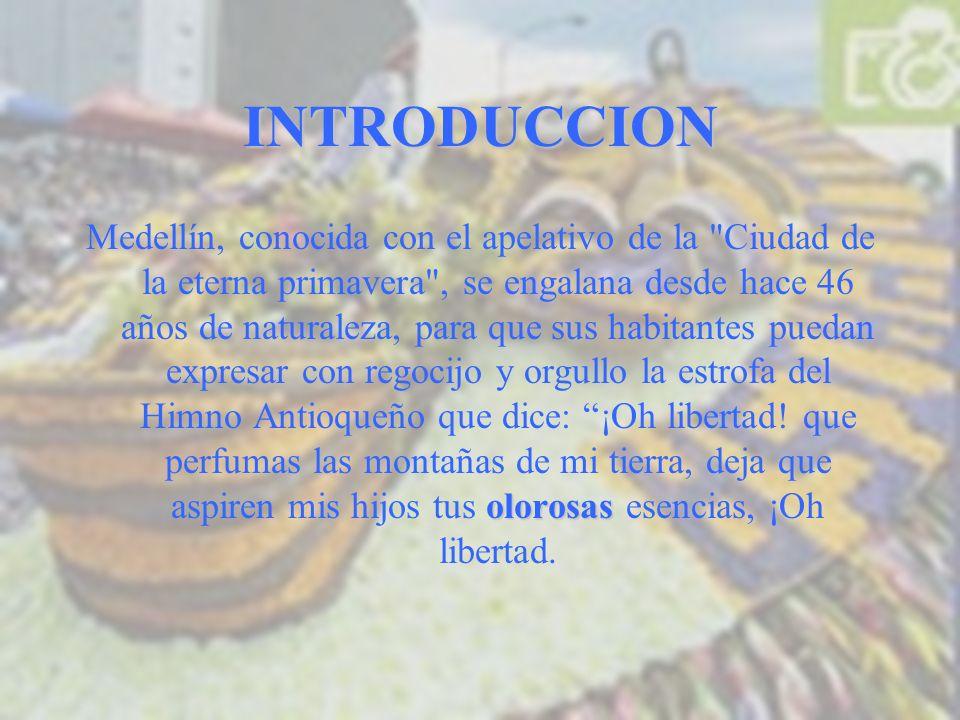 HISTORIA La primera Feria de las Flores que se realizó en Medellín fue el 1 de mayo de 1957, por ser el mes asignado a las flores, bajo la iniciativa del ilustre Antioqueño Arturo Uribe, miembro por aquella época de la Junta de la Oficina de Fomento y Turismo.