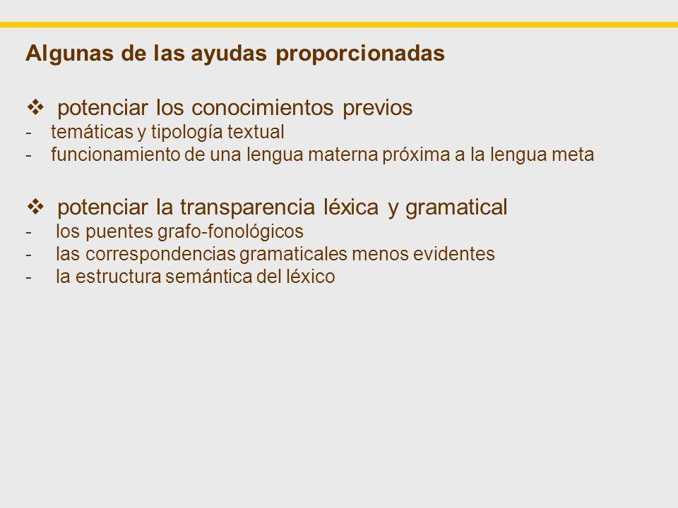 Correspondencias grafo-fonológicas