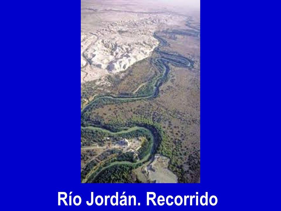 Río Jordán. Recorrido