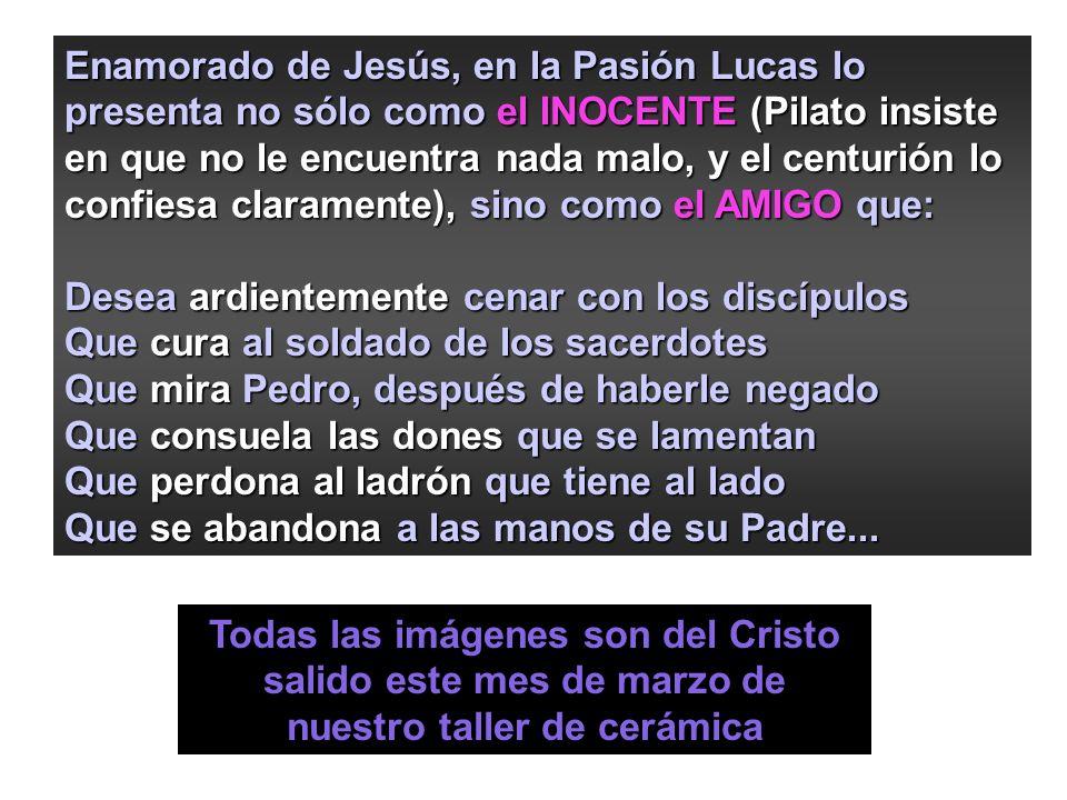 Getsemaní PASIÓN de LUCAS Para Lucas Jerusalén es la ciudad de la Muerte, y de la Vida que de aquí saldrá hacia los extremos de la tierra (He ) Para L