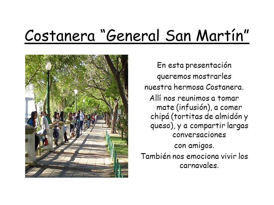 La Costanera y el Puente Detrás, puede verse el Puente General Belgrano, que une a nuestra provincia de Corrientes, con la vecina Chaco.