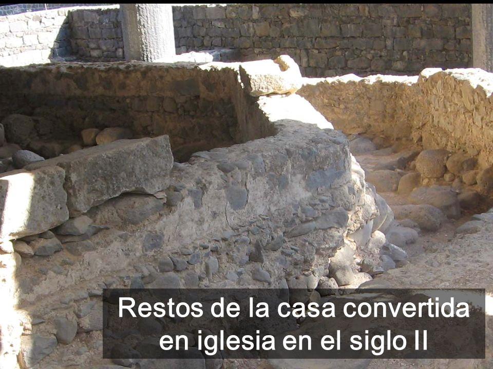 Cap 18-20 Sermón sobre el comportamiento de los cristianos - Domingos 22-25 Todas las imágenes son de Cafarnaún donde Jesús vive con los discípulos Je