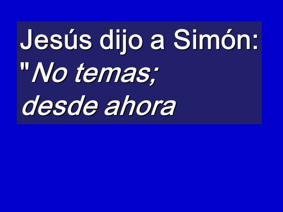 Jesús dijo a Simón: