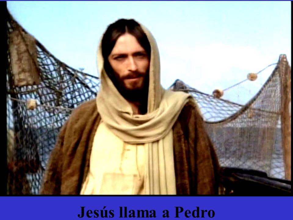 Jesús llama a Pedro