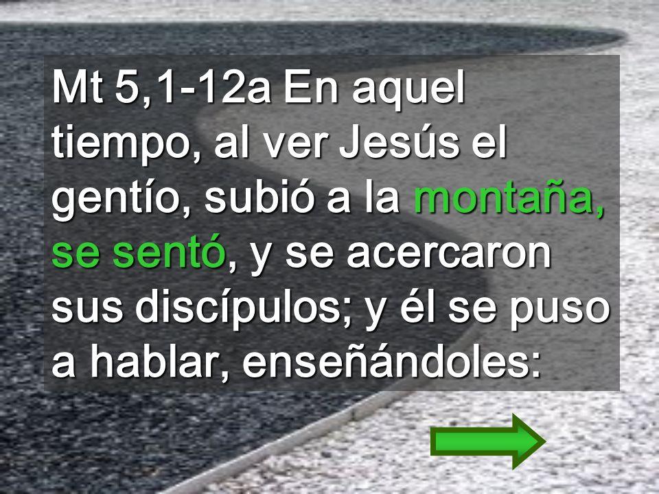 SERMÓN de la MONTAÑA: es la LUZ para los que vivimos en las tinieblas (domingo pasado) La NUEVA LEY que resume lo esencial para el REINO Mateo tiene 5